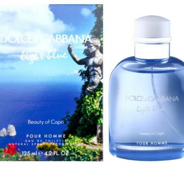 DOLCE &GABBANA Light Blue (Beauty of Capri) EDT 125ml