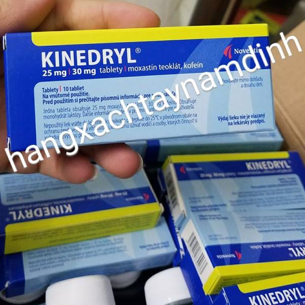 Thuốc chống say xe KINEDRYL